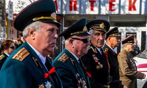 В украине избивают пенсионеров