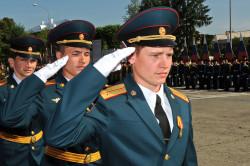 Выпускники военного училища